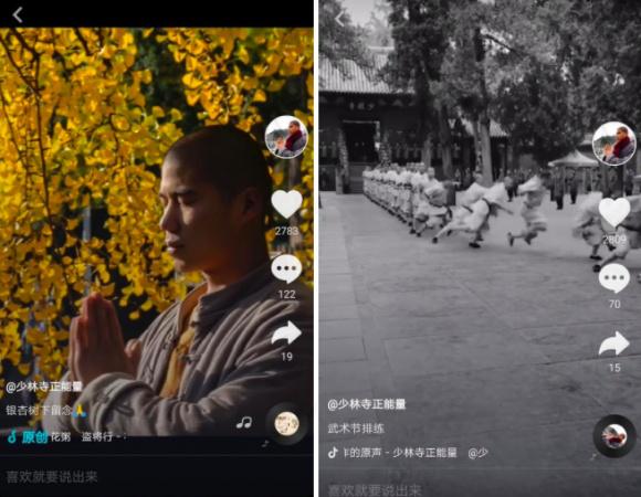 少林武功获百万点赞 <a href='http://mcnjigou.com/?tags=3'>抖音</a>网友:这才是外国人不知道的中国功夫!