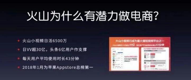 直播+电商:单场直播流水达237万!火山小视频电商迎来新红利!!!